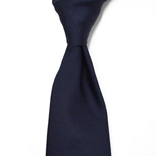 TIEYOURTIE【タイユアタイ】Settepieghe P0009 silk NAVY(セッテピエゲ シルク ネイビー ソリッド)