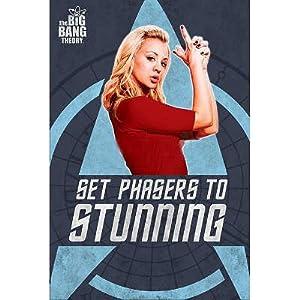 (24x36) Penny Set Phasers To Stunning Big Bang Theory Television Poster