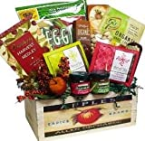 Naturally Beautiful Gourmet Food and Snacks Gift Basket