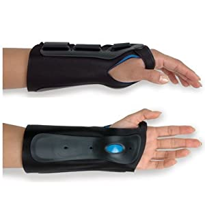 Exoform wrist brace - Right, XL, Wrist Circ: 9-10 by Rolyn Prest