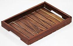 SR Crafts Wooden Serving Tray