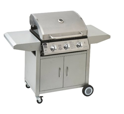 Landmann 3 Burner Stainless Steel Gas Barbecue