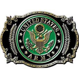 "U.S. Army Belt Buckle 3 1/8"""