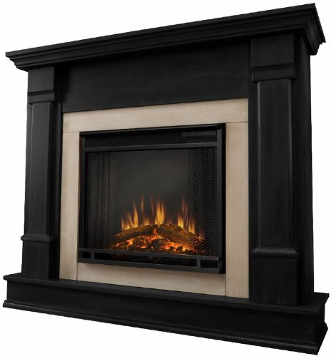 Real Flame Silverton Electric Fireplace in Black photo B0045M844S.jpg