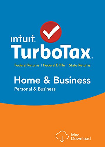 TurboTax Home & Business 2015 Federal + State Taxes + Fed Efile Tax Preparation Software – Mac Download