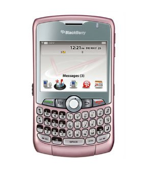 BlackBerry Curve 8330 Cell Phone 3G Smartphone Verizon (PINK)CDMA