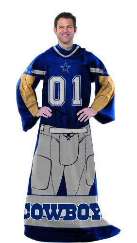 NFL Dallas Cowboys Full Body Player Comfy Throw