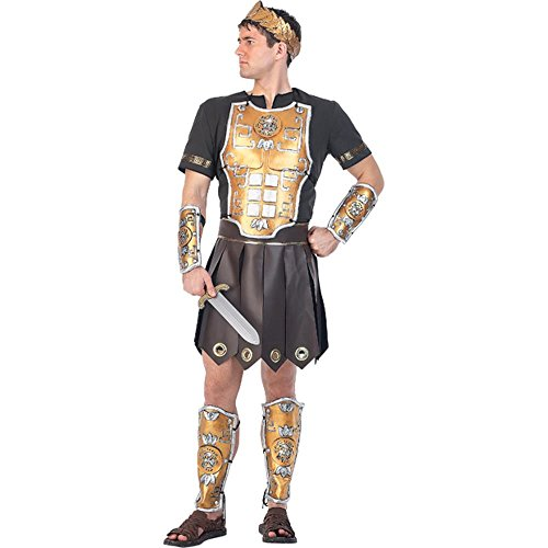 Adult Perseus Gladiator Costume (Size: Standard 44)