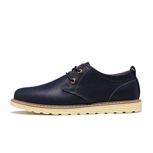 Automne casual chaussures/Hommes chaussures/Chaussures de cuir loisirs hommes/ La version coréenne des chaussures basses hommes coupe actuelle