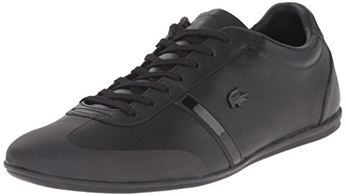 Lacoste Men's Mokara 116 1 Fashion Sneaker, Black, 10.5 M US