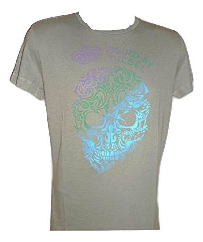 Diesel -  T-shirt - Maniche corte  - Uomo cachi Small