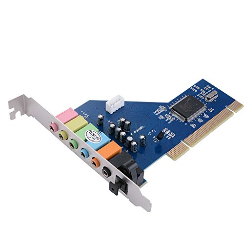 XCSOURCE-PCI-71-Channel-71CH-Surround-3D-Sound-Audio-Card-CMI8768-Chipset-for-PC-Windows-XP-Vista-7-AC393