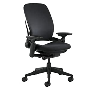Steelcase Leap Fabric Chair, Black