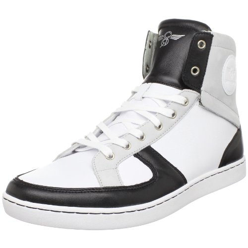 Creative Recreation Men's Solano High-Top Sneaker,Black/White/Vapor,11 M US