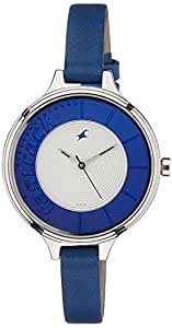 amazon   fastrack women s analog dial watch silver watches