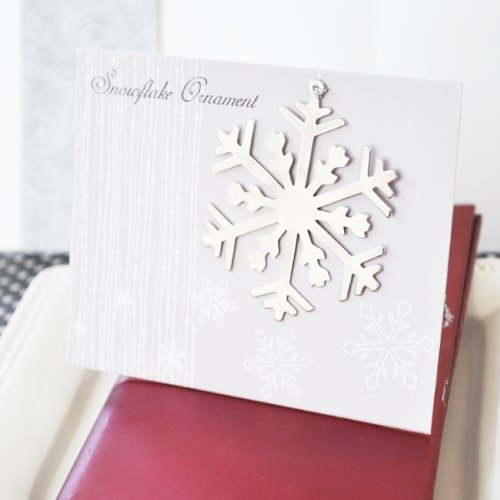Set of 100 Personalized Winter Wedding Christmas Wedding Favors Snowflake Ornament Wedding Favors