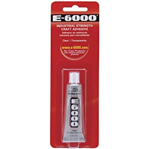 E6000 Multi-Purpose Adhesive-0.5 Ounces
