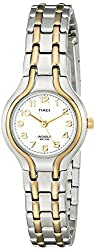 "Timex Women's T27191 ""Elevated Classics"" Sport-Chic Two-Tone Bracelet Watch"