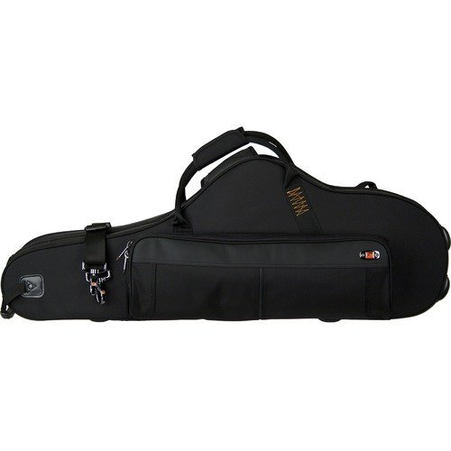 ProTec Contoured Tenor Sax Pro Pac Case tenor high quality 54 saxophone tenor b flat sax curved professional sax black nickel gold with sax accessories free shipping