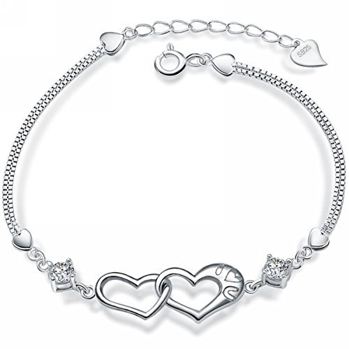 merdia-s925-sterling-silver-heart-with-a-cubic-zirconia-womens-bracelet-75
