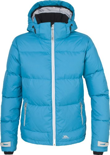 Trespass Women's Cocoon Down Jacket - Turquoise, X-Small