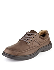 Airflex™ Comfort Leather Extra Wide Fit Derby Shoes
