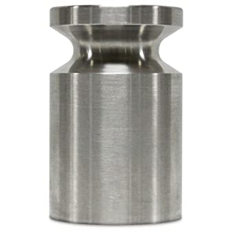 Rice Lake Stainless Steel Cylindrical Calibration Weight, NIST Class F, Metric