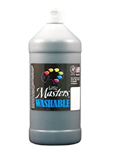 Roche paint handy art rpc213755 petits ma tres noir 32oz for Peinture cuisine lavable