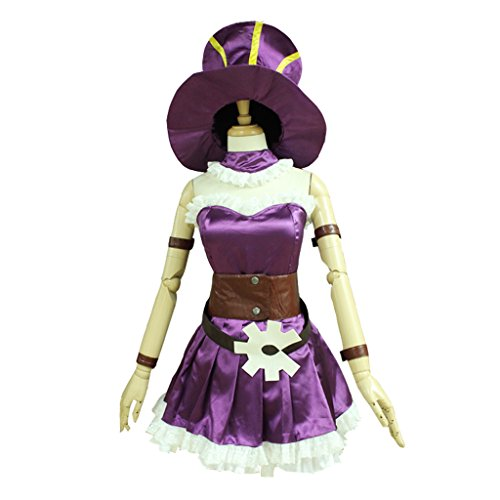 CosplayDiy Women's Costume Dress for League of Legends Caitlyn Cosplay