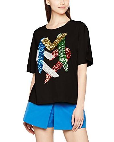Love Moschino Camiseta Manga Corta Azul