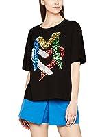 Love Moschino Camiseta Manga Corta (Negro)
