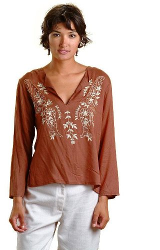 ladies / women short kurta kurti  / tops / tunics  with long sleeve
