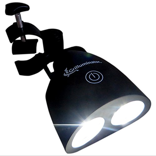 The Authentic Grilluminator Grill Light for BBQ Is The Best Barbecue Tool& Accessory For Your Barbeque. Ultra Bright Handle Mount LED Illuminates Your Food In All Weather. (Smoker Grill Light compare prices)