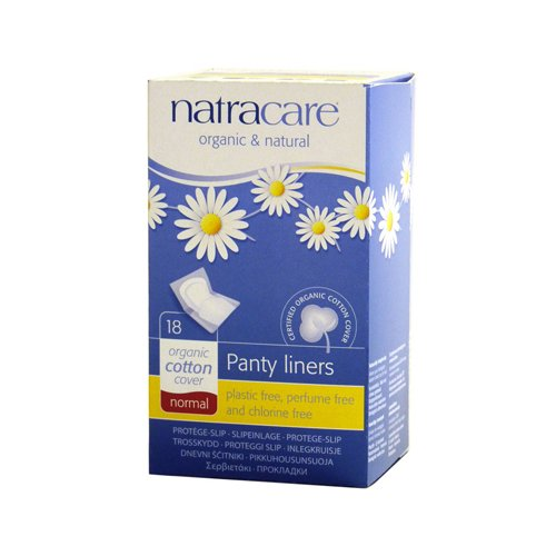 Natracare Panty Liner Normal Wrapped 18 ct