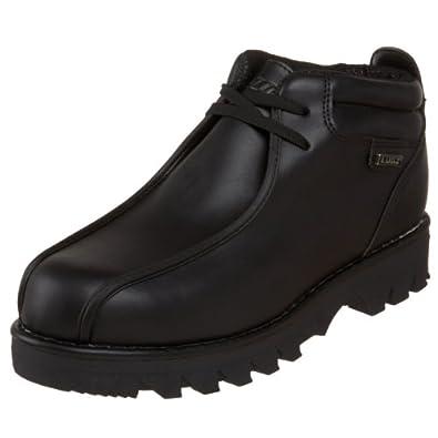 Lugz Men's Pathway Lace-Up Boot,Black Leather,8 D US