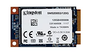 Kingston Digital 120GB SSDNow mS200 mSATA (6Gbps) Solid State Drive for Notebooks Tablets and Ultrabooks SMS200S3/120G