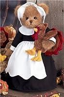 Bearington Thanksgiving Pilgrim Bear & Turkey Gabby & Gobbles #179801 by Bearington