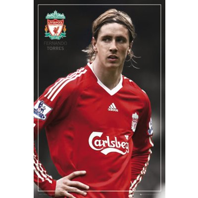Liverpool FC. Poster – Torres