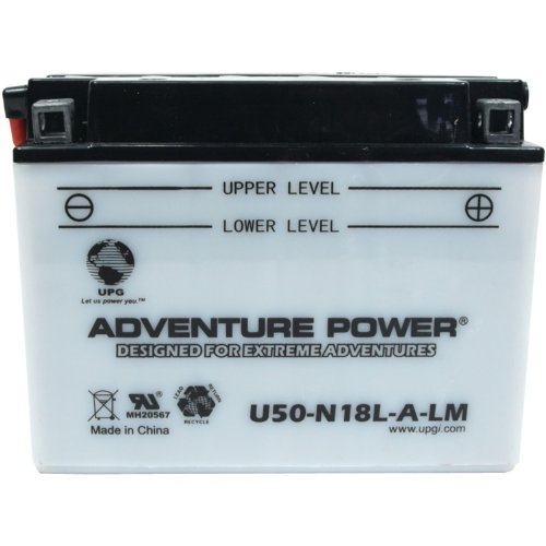 UPG 42546 U50-n18l-a-lm Conventional Power Sports Battery