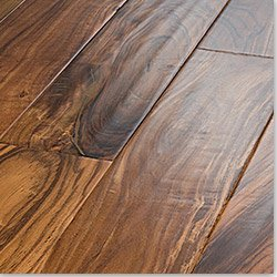 Handscraped Tropical Collection Wood Flooring Acacia Golden / 4 7/8 in. / Length: Random Length