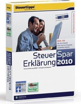 Steuer-Spar-Erklärung 2010 (für Steuerjahr 2009)