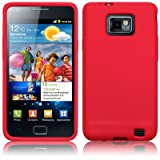 "Iprotect ORIGINAL SAMSUNG GALAXY S2 I9100 SILIKON CASE HIGHCLASS ROTvon ""iprotect"""