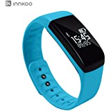 Waterproof Fitness Tracker Pedometer InnKoo U8 Activity And Sleep Monitor Sports Watch Band Calories Counter Smart...