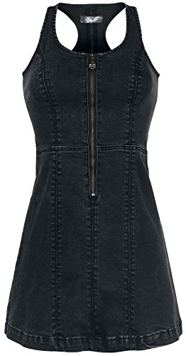 Rock Rebel by EMP Racerback Jeans Dress Abito nero S