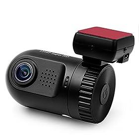 Dashboard Camera, SplashETech Car dvr Mini 0805 Dash Cam *World's Smallest Dashcam W/ Screen* Ambarella A7LA50 Chip Full HD 1296P(Upgraded Mini 0803) Car Video Recorder,Dvr Car Camera with GPS Logger