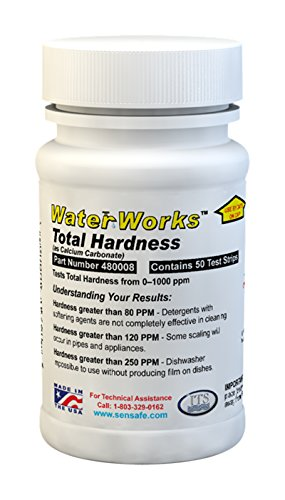 Industrial Test Systems 480008 WaterWorks Total Hardness Test (Water Test Strips Hardness compare prices)