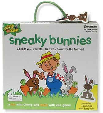 41ZA%2BUdlKhL Cheap Price Pressman Chimp and Zee Sneaky Bunnies Game