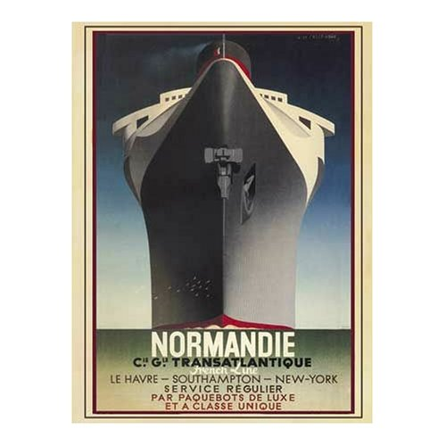 Buffalo-Games-Vintage-Posters-Normandie-to-New-York-1026-Piece-Jigsaw-Puzzle