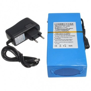 DC 12V 20000mAh Super Rechargeable Portable Lithium-ion Battery Pack (12v Lithium Ion Battery Pack compare prices)