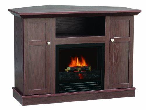 Sylvania Sbm902Cm-42Fdc Electric Fireplace Heater 1250-Watt With 42-Inch Mantel Ideal For Flat Screen Tv, Chesnut
